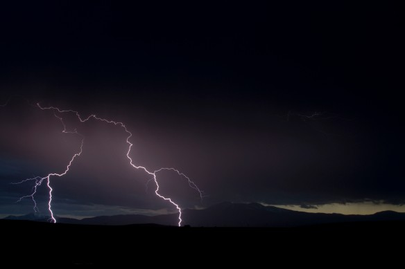 Lightning Over Buffalo Peaks 6.6.13 2